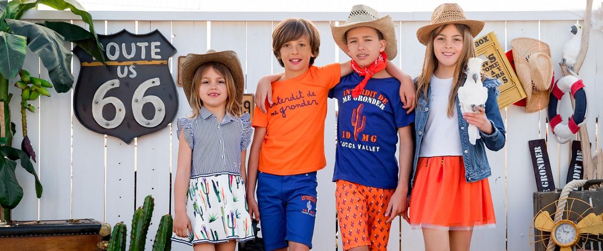 Find a wide selection of children's clothes | Interdit de me gronder