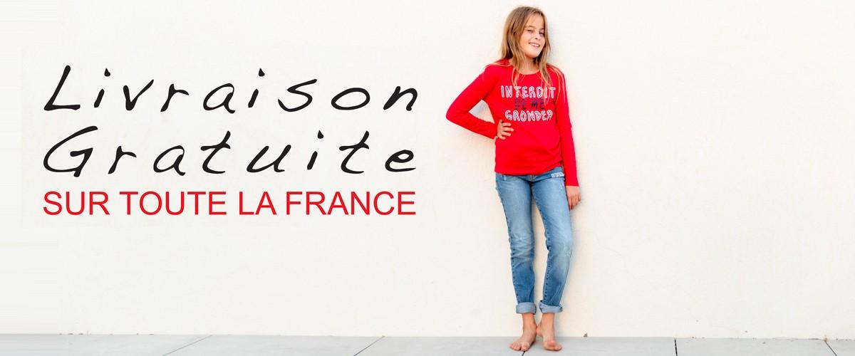 LIVRAISON GRATUITE SUR TOUTE LA FRANCE